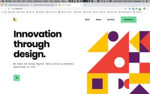 geometric-shapes-web-design
