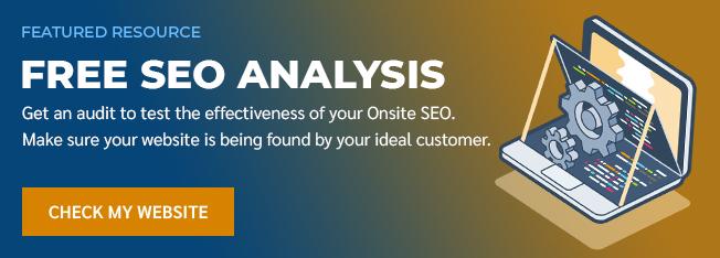 SEO Onsite Analysis Banner 1