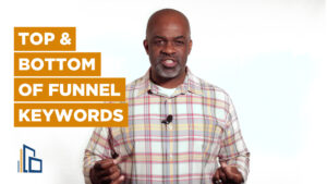 Jason's Top & Bottom Funnel Keywords Video